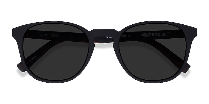 Basalt & Warm Tortoise Dune -  Plastic Sunglasses