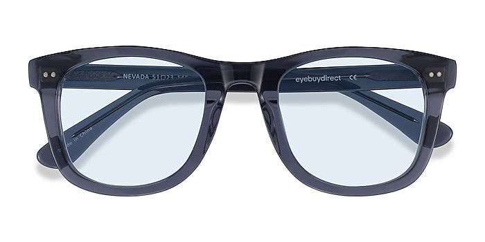Clear Gray Nevada -  Acetate Sunglasses