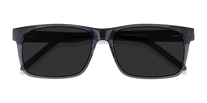 Clear Gray Sun Sydney -  Acetate Sunglasses