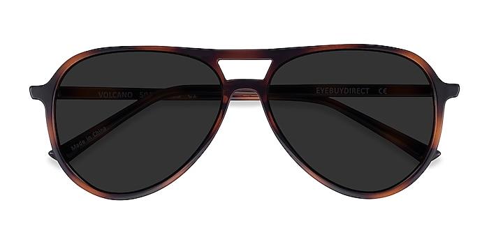 Tortoise Volcano -  Plastic Sunglasses