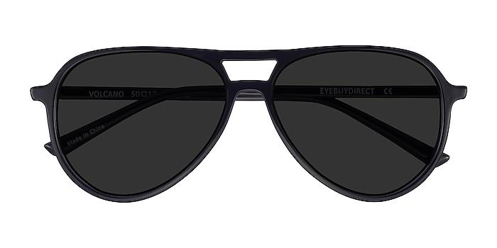 Noir Volcano -  Plastique Lunettes de soleil