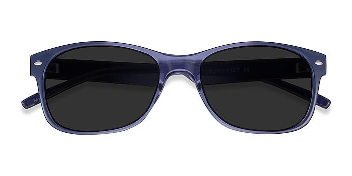 Bleu Jump -  Plastique Lunettes de soleil