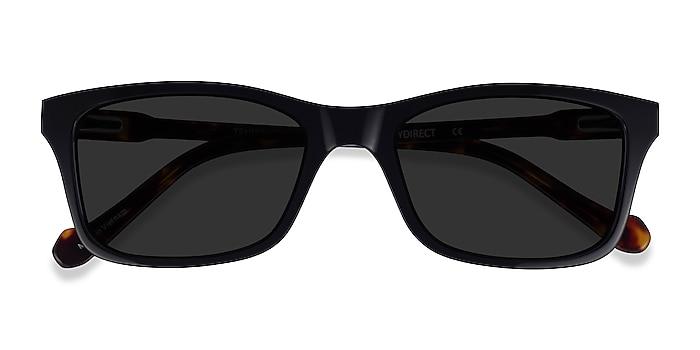 Black Tortoise Tennis -  Acetate Sunglasses
