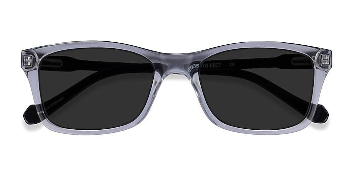 Clear Black Tennis -  Acétate Lunettes de soleil