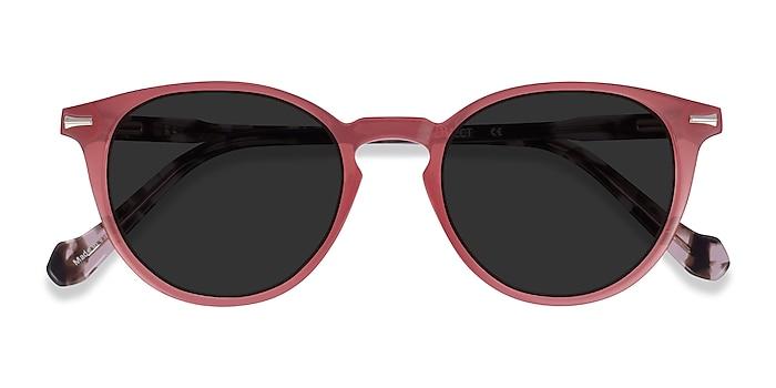 Coral Tortoise Origami -  Acetate Sunglasses