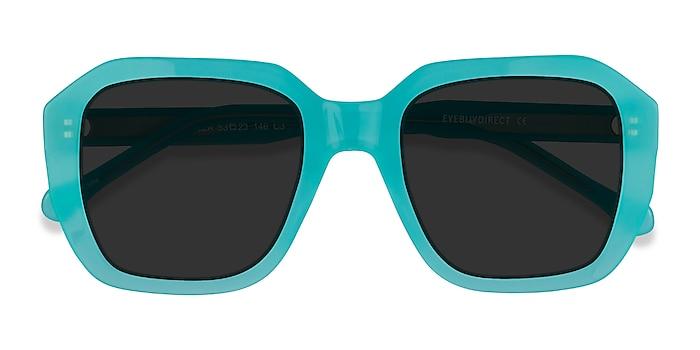 Turquoise Blue Azalea -  Acétate Lunettes de soleil