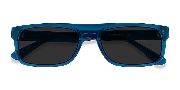 Clear Blue Grayton -  Acétate Lunettes de soleil