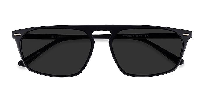 Black Hernando -  Acetate Sunglasses