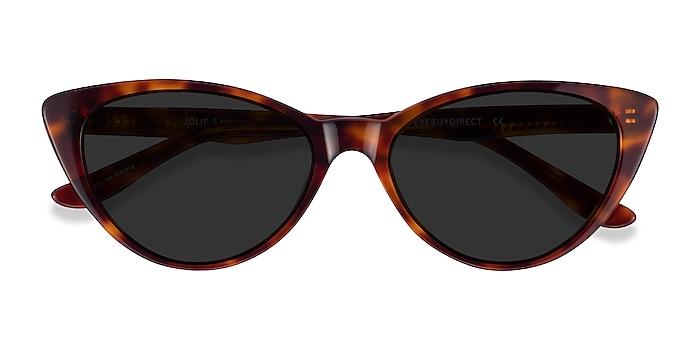 Brown Tortoise Jolie -  Acetate Sunglasses