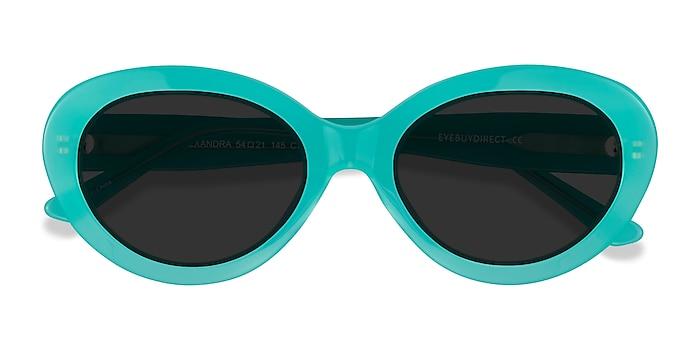 Teal Alexandra -  Acetate Sunglasses