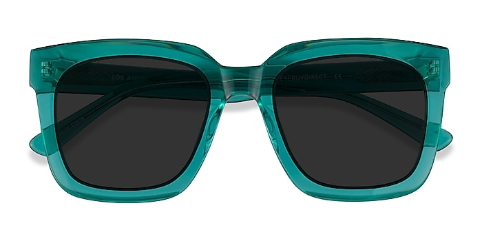 Clear Green Los Angeles -  Acetate Sunglasses