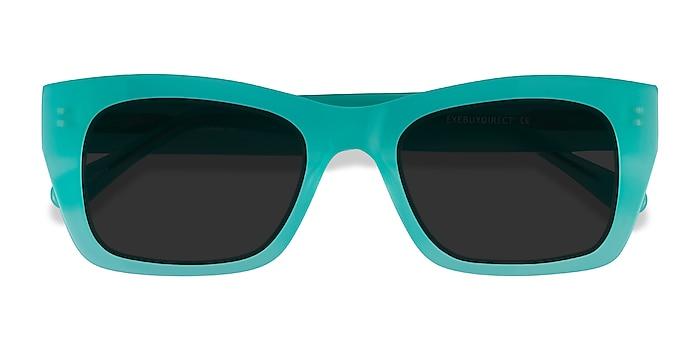 Turquoise Because -  Acetate Sunglasses