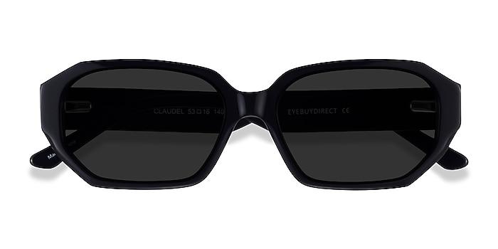 Black Claudel -  Acetate Sunglasses