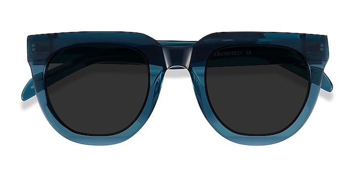 Teal Dali -  Acetate Sunglasses