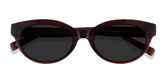 Clear Brown Vacation -  Acetate Sunglasses