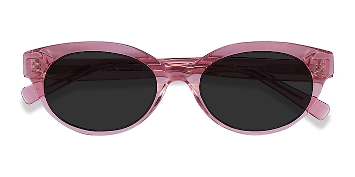 Clear Pink Vacation -  Acetate Sunglasses