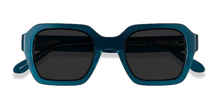 Teal Somerset -  Acetate Sunglasses