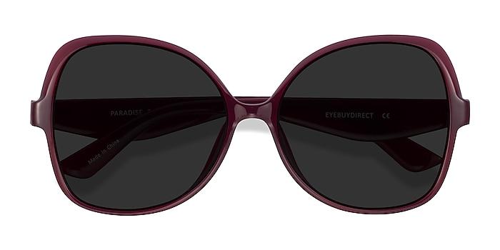 Burgundy Paradise -  Acetate Sunglasses