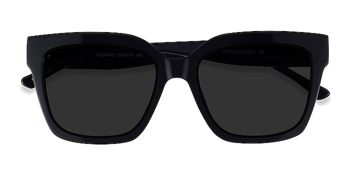 Black Itinerary -  Acetate Sunglasses