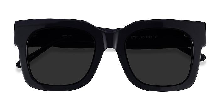 Black Monterey -  Acetate Sunglasses