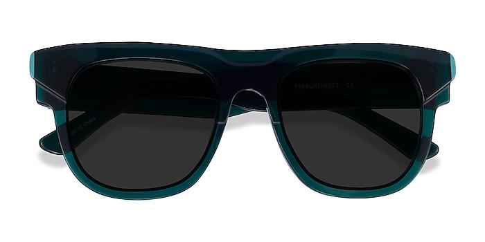Teal Eon -  Acetate Sunglasses
