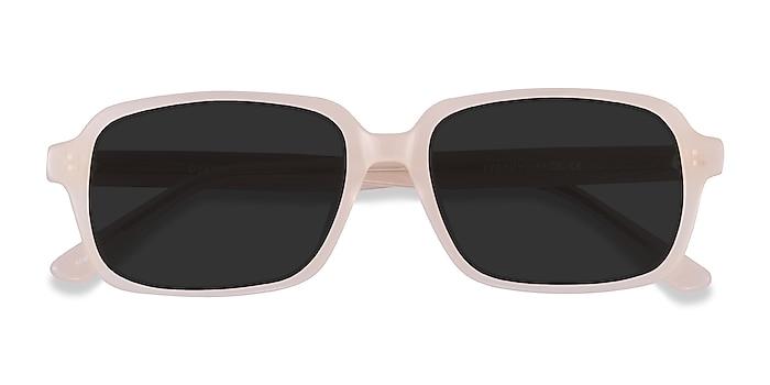 Beige Opacity -  Acetate Sunglasses