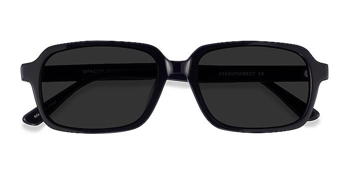 Black Opacity -  Acetate Sunglasses