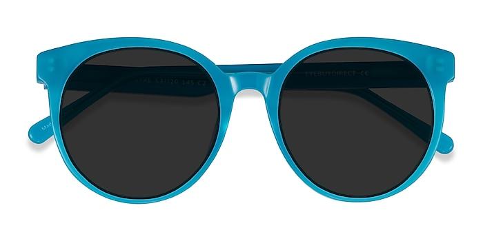 Aqua Lustre -  Acetate Sunglasses