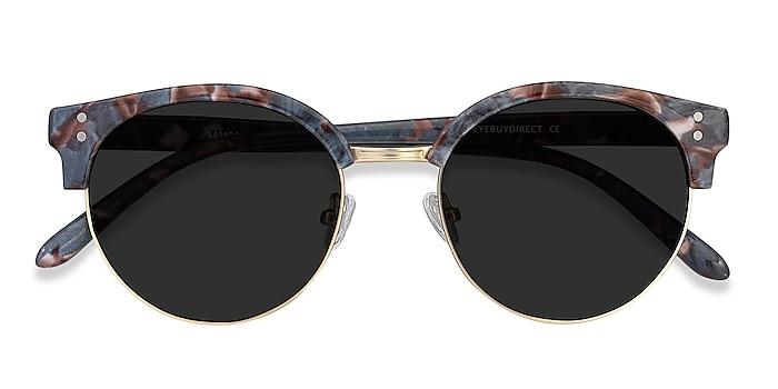 Floral Gold Samba -  Plastic, Metal Sunglasses