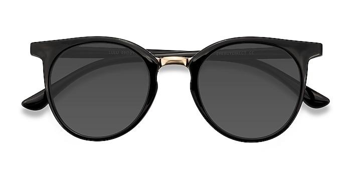 Black Lulu -  Plastic, Metal Sunglasses