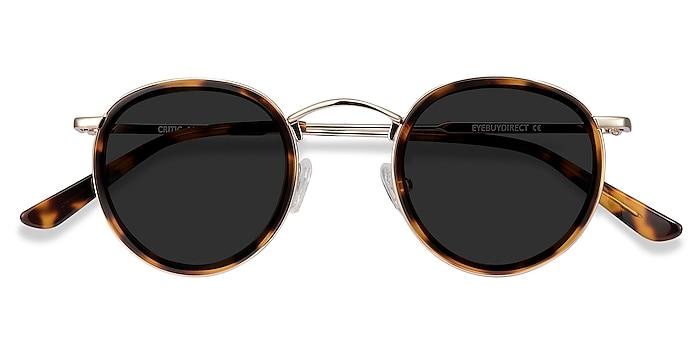 Tortoise Critic -  Vintage Metal Sunglasses