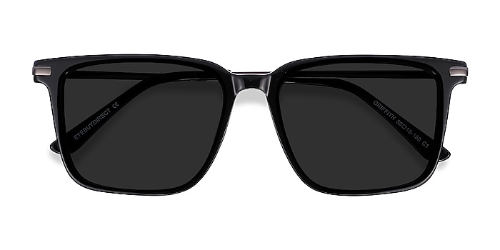 Black Griffith -  Acetate, Metal Sunglasses