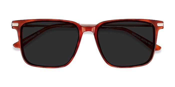 Light Tortoise Griffith -  Acetate, Metal Sunglasses