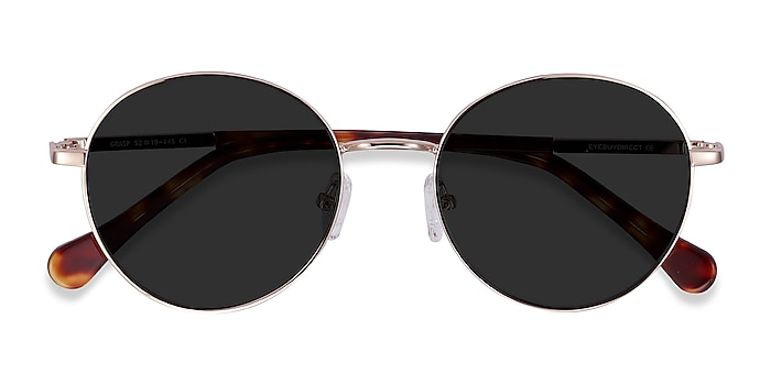 Gold Grasp -  Acetate, Metal Sunglasses