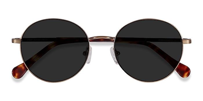 Bronze Grasp -  Acetate, Metal Sunglasses