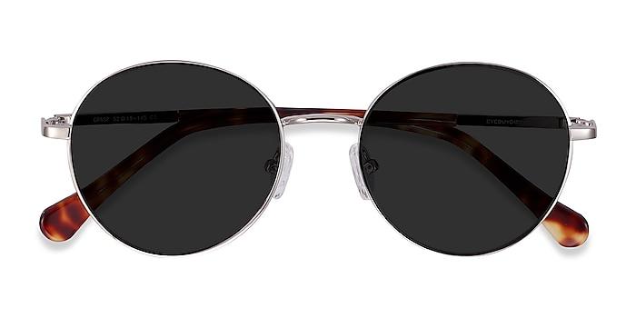 Silver Grasp -  Acetate, Metal Sunglasses