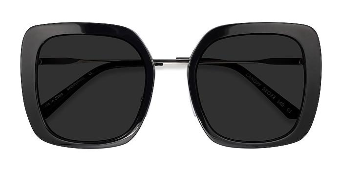 Black Canopy -  Acetate, Metal Sunglasses