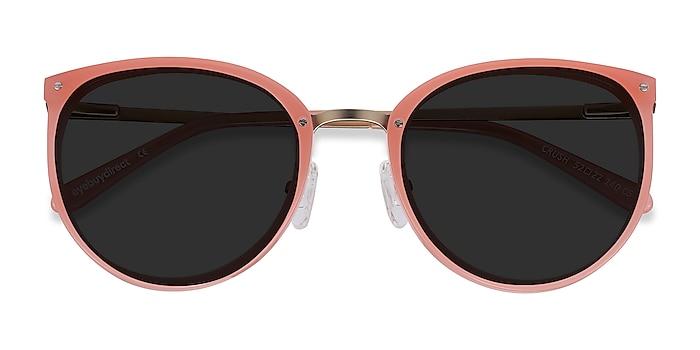 Coral Crush -  Acetate, Metal Sunglasses