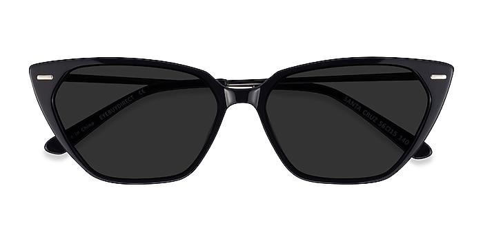 Black Santa Cruz -  Acetate Sunglasses