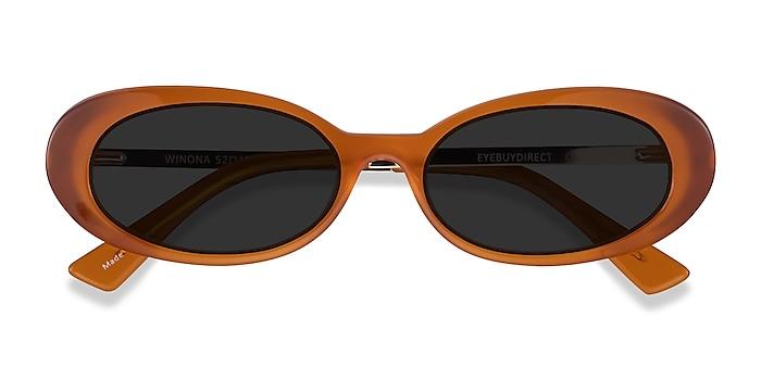 Orange Winona -  Acétate Lunettes de soleil