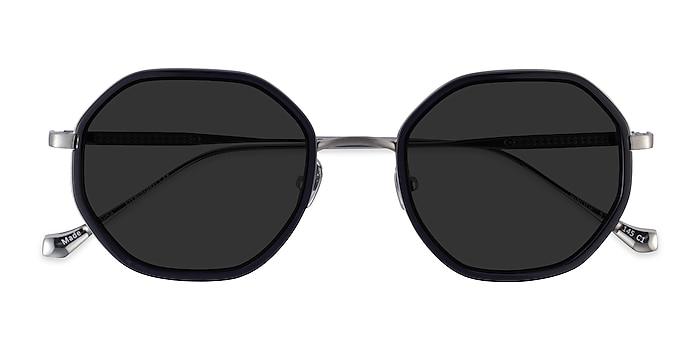 Black Gunmetal Hinode -  Acetate Sunglasses