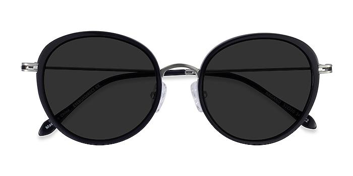 Black Silver Nagano -  Acetate Sunglasses
