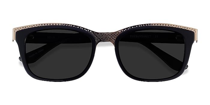 Black Gold Solis -  Acetate Sunglasses
