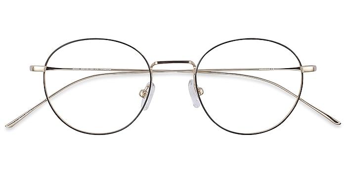 Black Aegis -  Vintage Titanium Eyeglasses