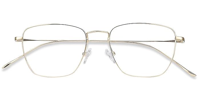 Golden Future -  Vintage Titanium Eyeglasses