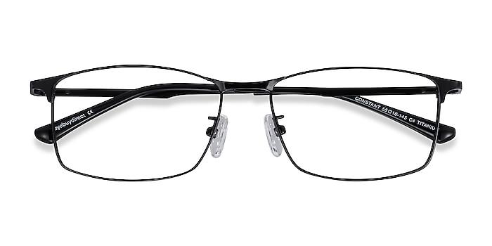 Black Constant -  Lightweight Titanium Eyeglasses