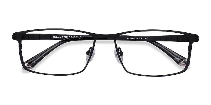 Black Driven -  Lightweight Titanium Eyeglasses