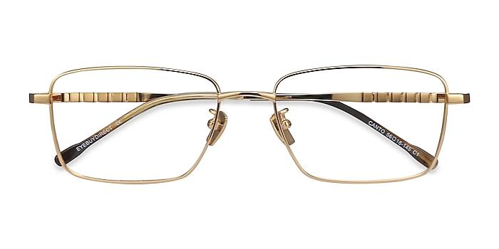 Golden Canto -  Lightweight Titanium Eyeglasses