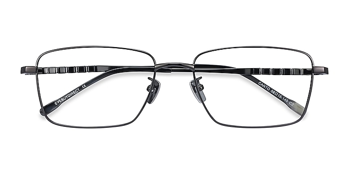 Gunmetal Canto -  Lightweight Titanium Eyeglasses