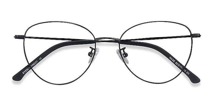 Black Gaze -  Lightweight Titanium Eyeglasses